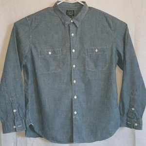 Men's J.Crew Chambray Style Button Up